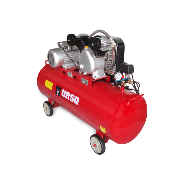 "Professional grade air compressor, equiped with large air flow pump.             Air delivery     11 cfm         Compressor Stage    One        Pump RPM    980        Pump Material    Solid Cast Iron        Motor RPM    2800        Motor Phase    One        Voltage available    230V        Tank Size    40 Gallon        Tank orientation    Horizontal        Tank Outlet Size   2X1/2""       Tank Drain    Manual         Max PSI    175        Drive Type    Belt Driven              Configuration may vary, on request."