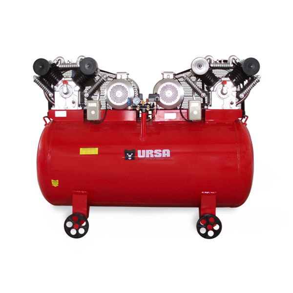 RECIPROCATING AIR COMPRESSORS 2X7.5kW WITH 1000L TANK