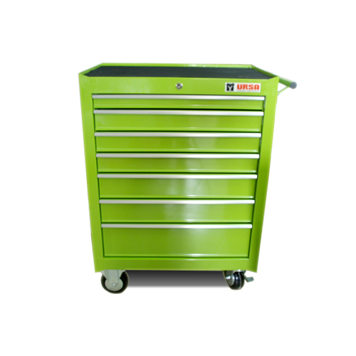 Professional tool cabinet with 7 drawers